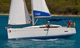 Sunsail 38 en navigation