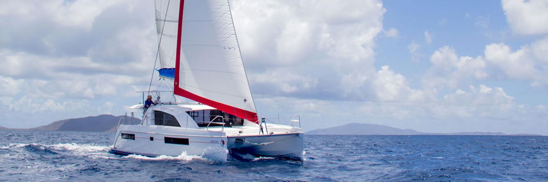 Sunsail 404 catamaran