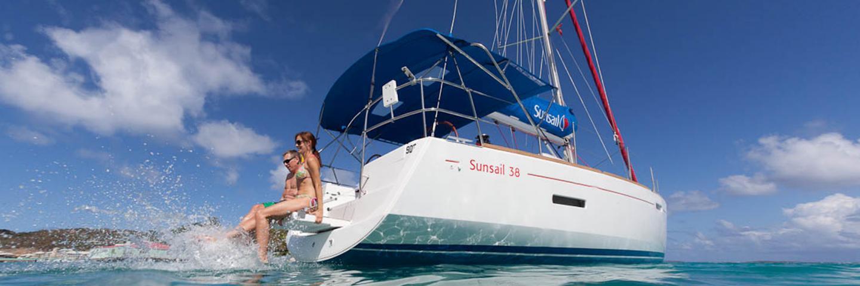 Sunsail 38 monocoque