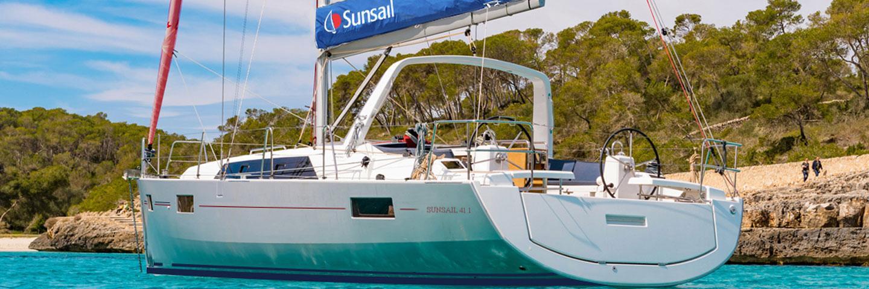 Sunsail 41.1 Monocoque - gestion location Sunsail