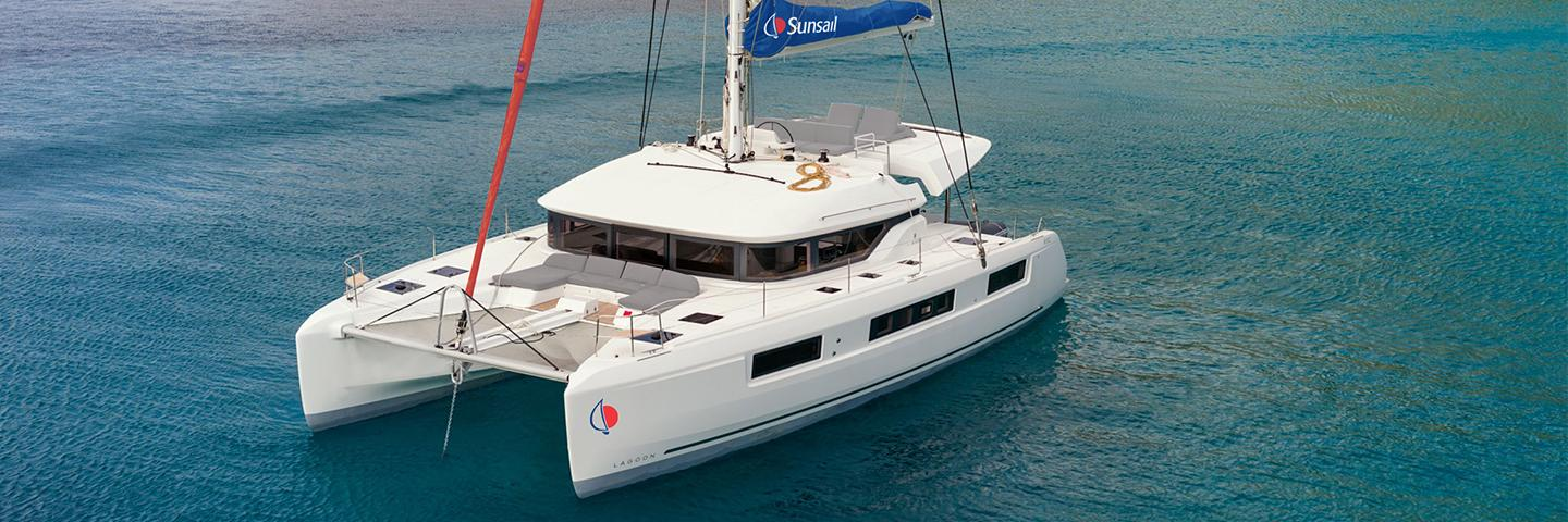 Sunsail Lagoon 505 catamaran